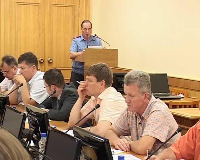 В Правительстве Кировской области прошло совещание на антиалкогольную тему