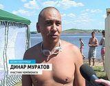 Второй чемпионат области по плаванию на открытой воде
