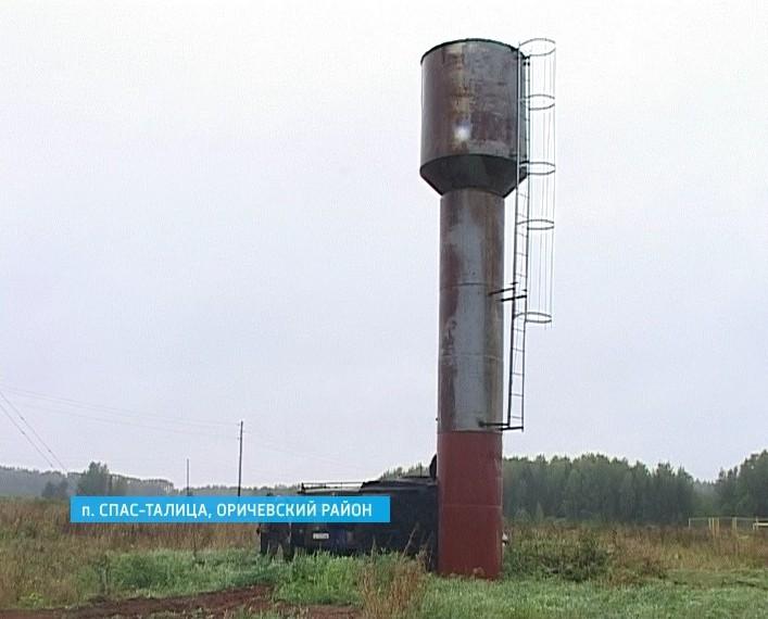 Новый водопровод в поселке Спас-Талица