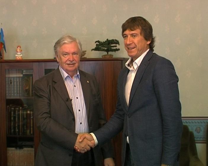 Встреча Сергея Доронина с Альбертом Лихановым