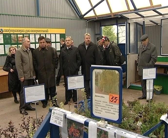 Владимир Быков на сельхозпредприятиях города Кирова