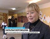 День учителя в средней школе деревни Денисовы