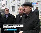 Владимир Быков с проверкой благоустройства дворов