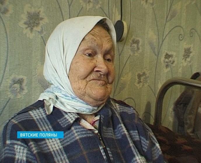 Ветеран ВОВ из Вятских Полян - Зоя Егоровна Артемьева