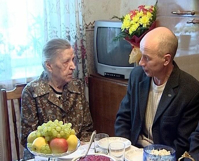 День рождения Антонины Опариной - матери героя Советского Союза