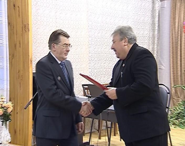 Заслуженному работнику культуры Владимиру Холманских – 50!
