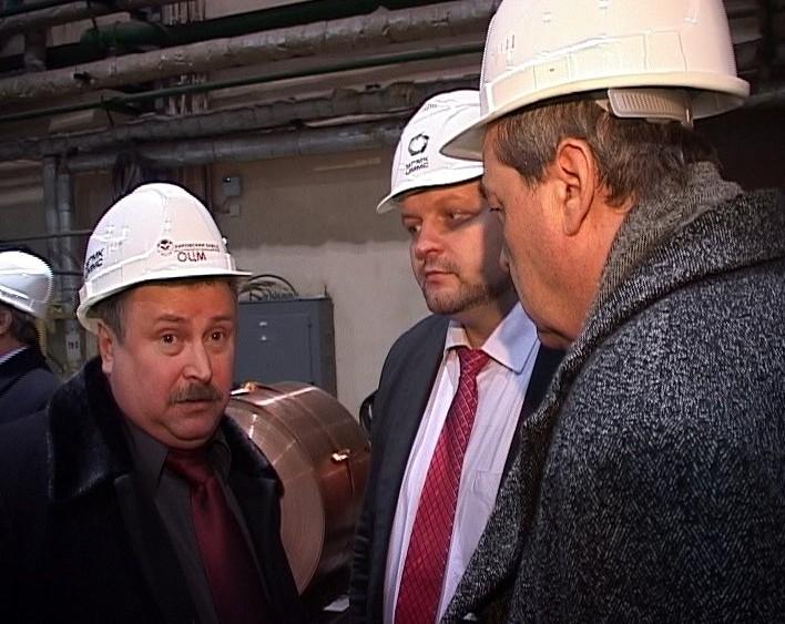 Никита Белых на заводе «ОЦМ»
