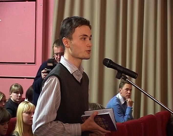 Встреча Никиты Белых со студентами ведущих кировских ВУЗов