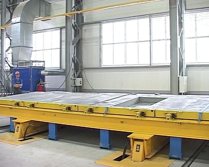 Запуск нового завода по производству строительных материалов
