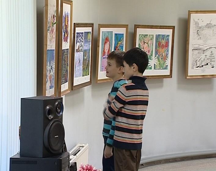 Творения юных художников
