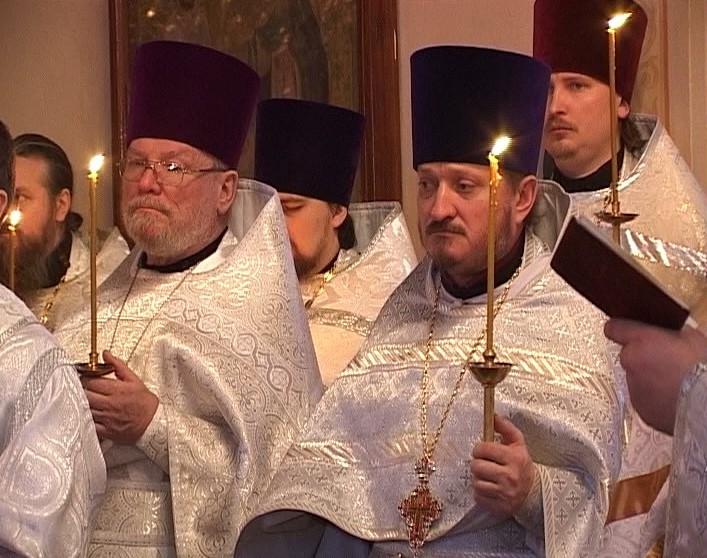 Панихида по митрополиту Вятскому и Слободскому Хрисанфу