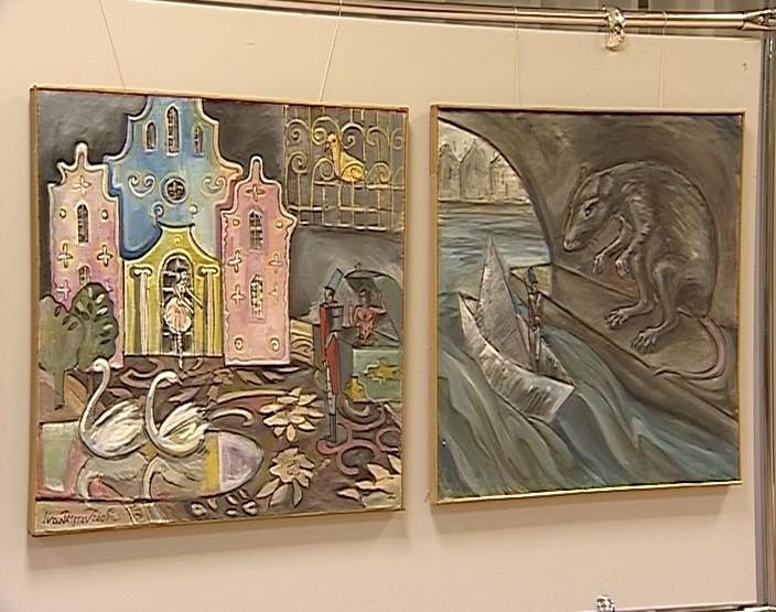Выставка Ивана Пестова в библиотеке имени Пушкина