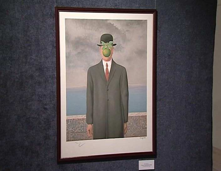 Выставка гравюр бельгийского художника-сюрреалиста Рене Магритта
