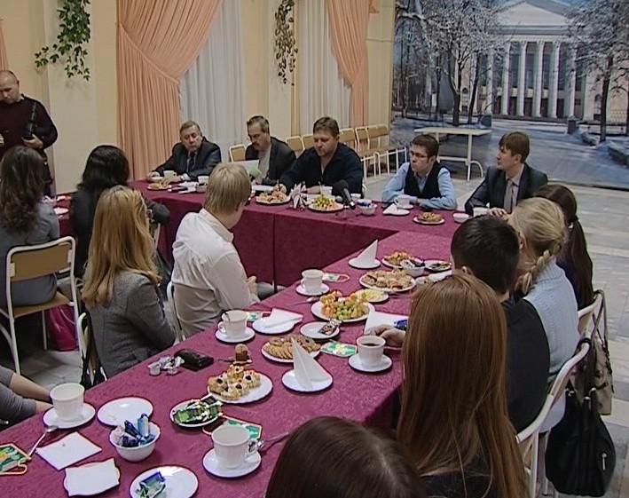 Встреча Никиты Белых со студентами