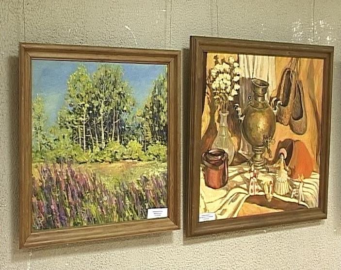 Выставка работ династии Двиняниновых