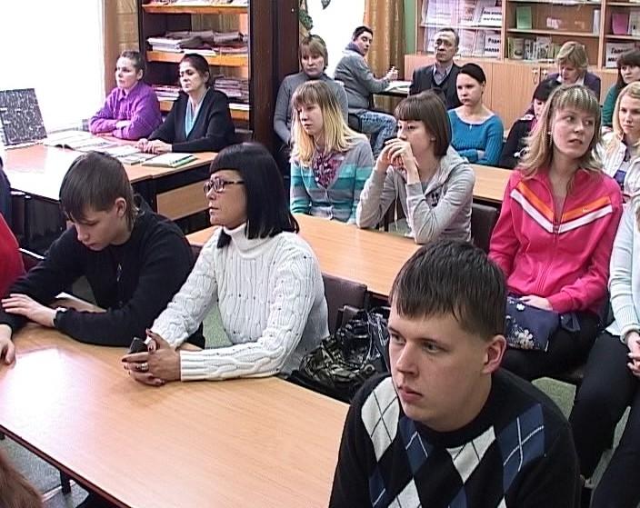 Встреча Светланы Журовой с молодежью Кирово-Черецка