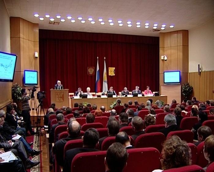 Заседание коллегии департамента с/х
