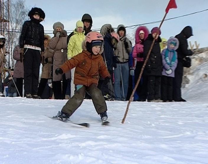 Соревнования на Кикиморской горе