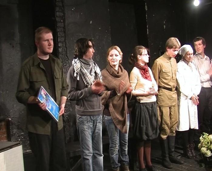 Спектакль Сергея Березина «Моя война»