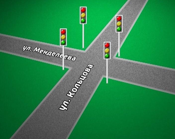 Дороги и светофоры