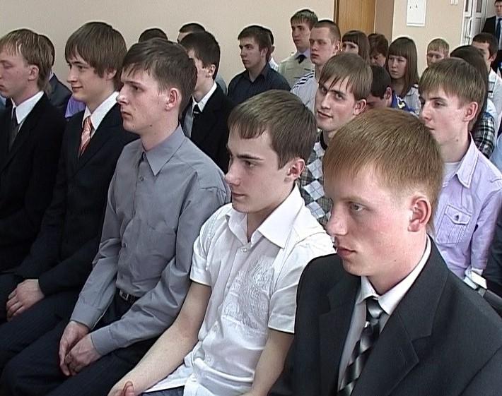 Встреча Никиты Белых со стипендиатами техникумов