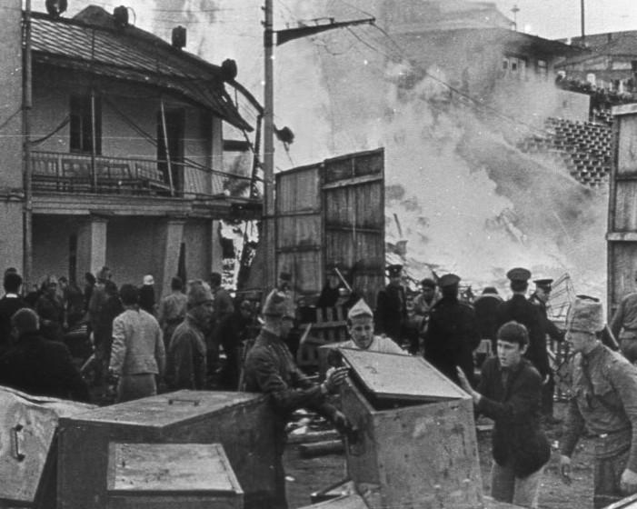 Взрыв на стадионе «Трудовые резервы»