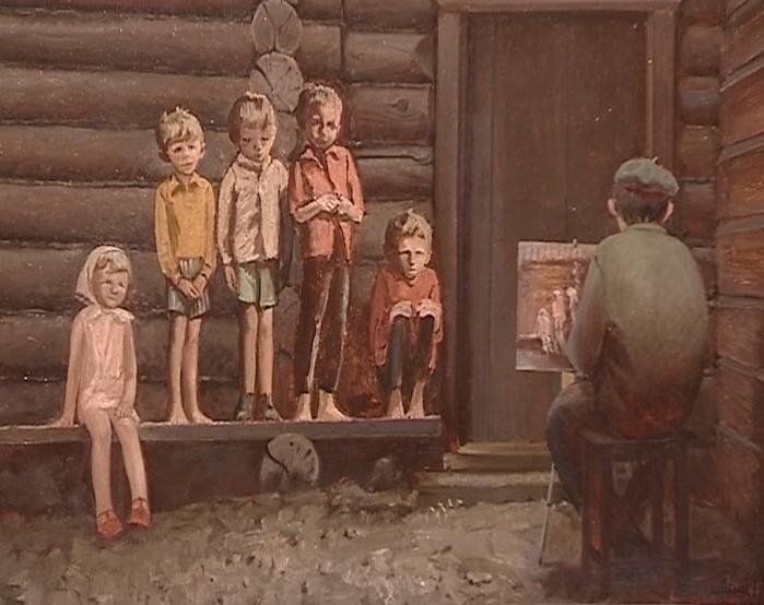 Выставка Алексея Жабского