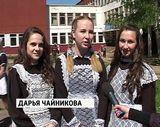 Владимир Быков на «последнем звонке» в школе № 52