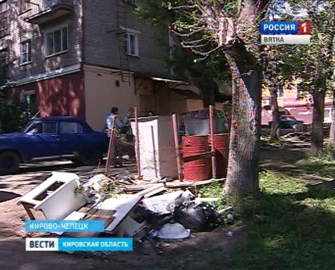 Мусор в Кирово-Чепецке