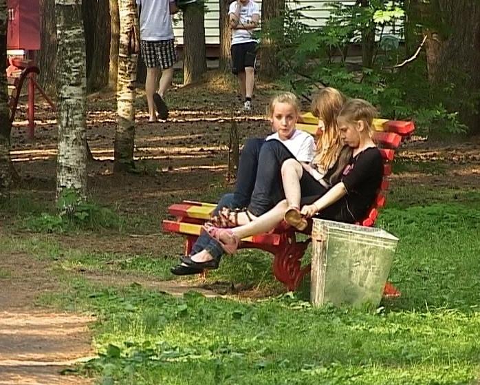 Отдых в лагере