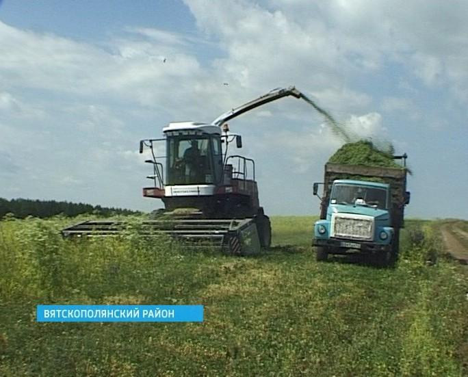 Заготовка кормов