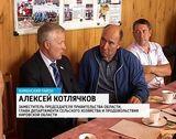 Министр с/х Татарстана в Куменском районе