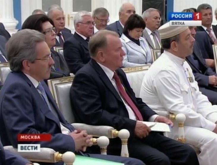Владимир Климов на встрече с президентом