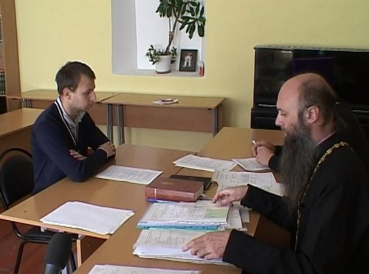 Экзамены в духовное училище
