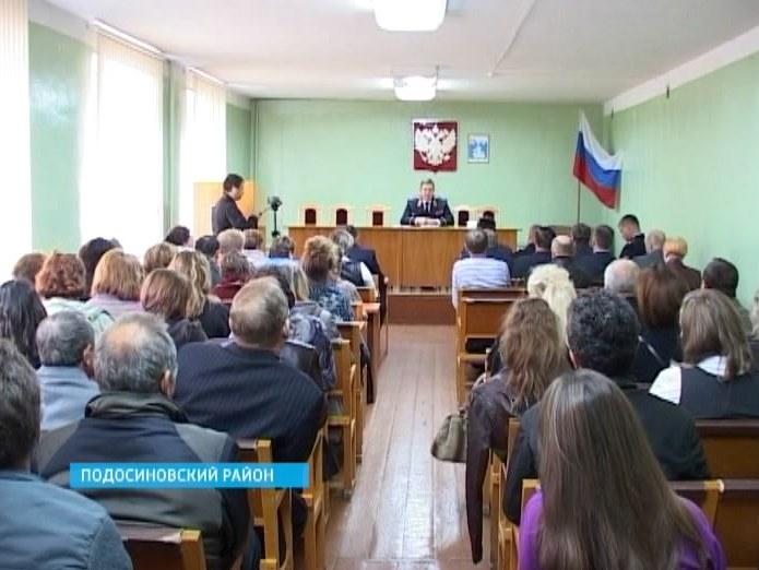 Сергей Солодовников в Подосиновском районе