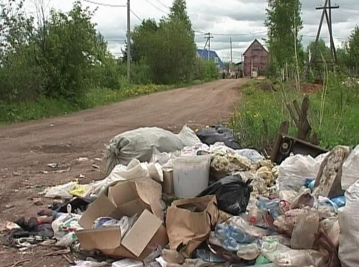 Стихийные свалки мусора