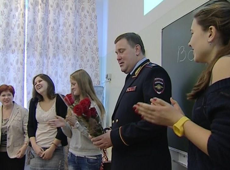 Солодовников в школе № 16