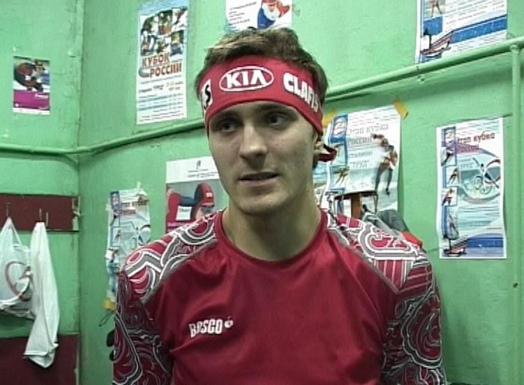 Мастер спорта по конькобежному спорту Алексей Суворов