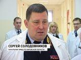 Солодовников поздравил сослуживцев, находящихся на лечении в госпитале