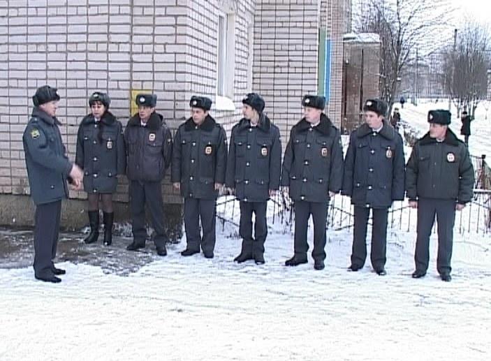 Полиция в Радужном