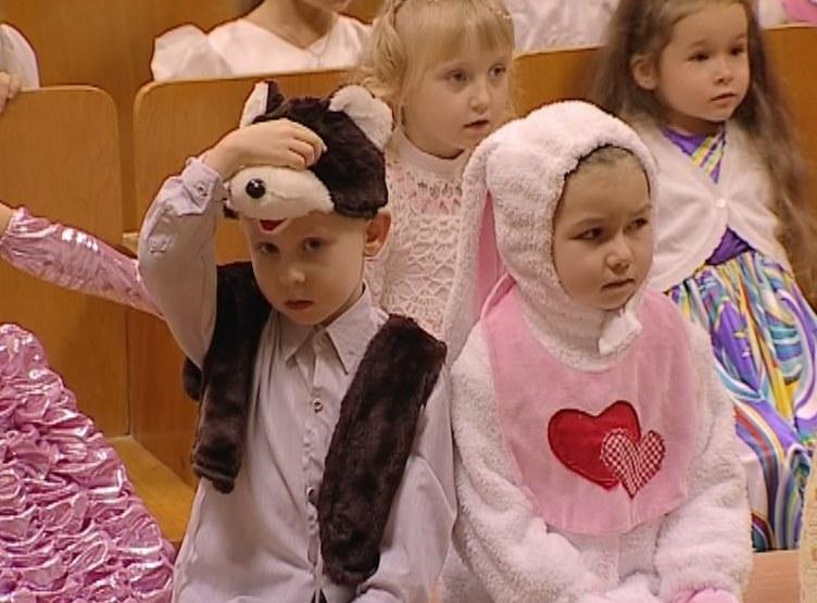 Зимний бал для малышей