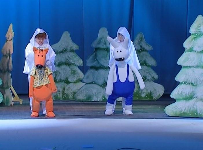 Новогодняя премьера в театре кукол