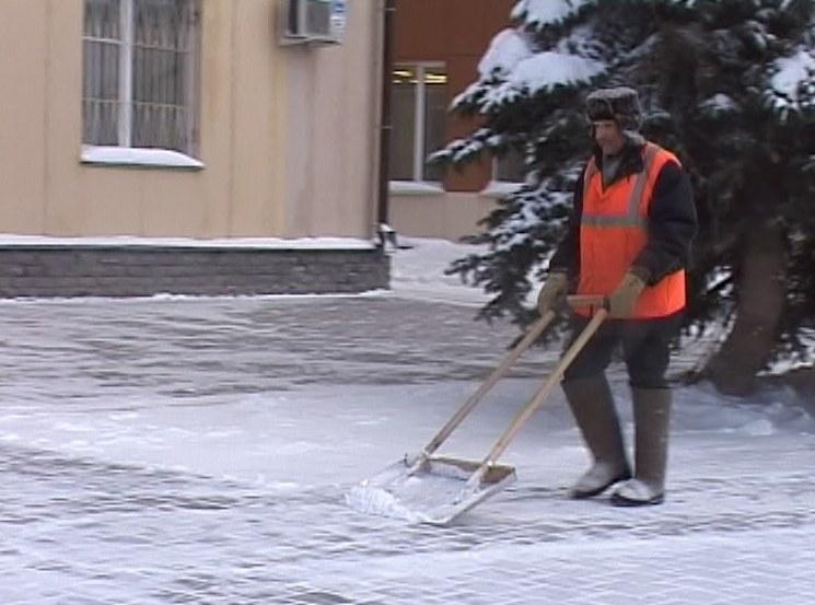 Убирай снег вовремя!
