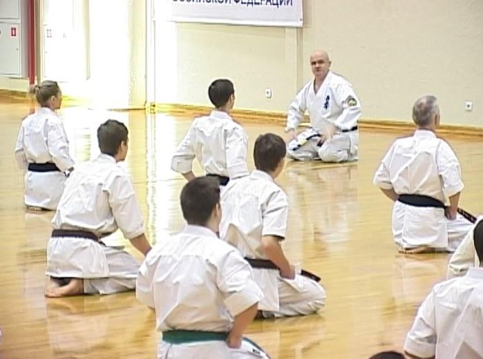 Международный лагерь по каратэ