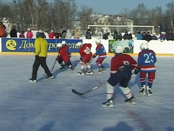 Хоккейная площадка