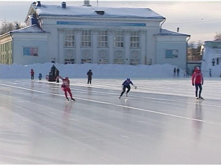 Соревнования по конькобежному спорту
