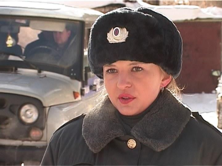 Женщина в погонах