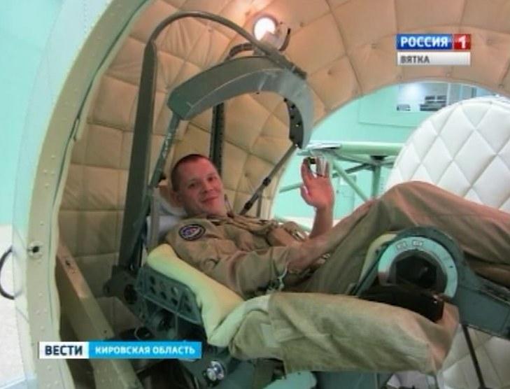 Кандидат в космонавты Олег Блинов