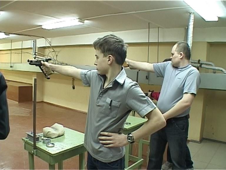 Областное первенство по стрельбе