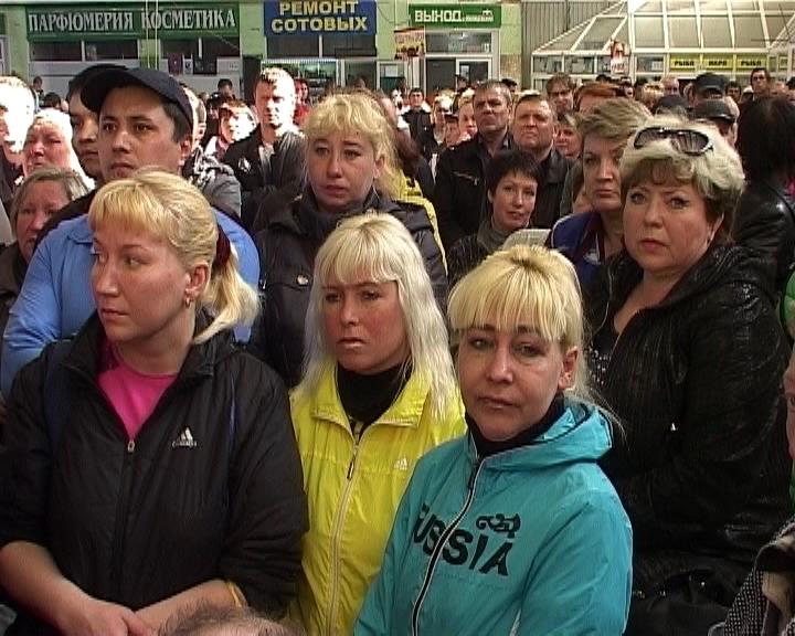 Сергей Солодовников встретился с сотрудниками Центрального рынка